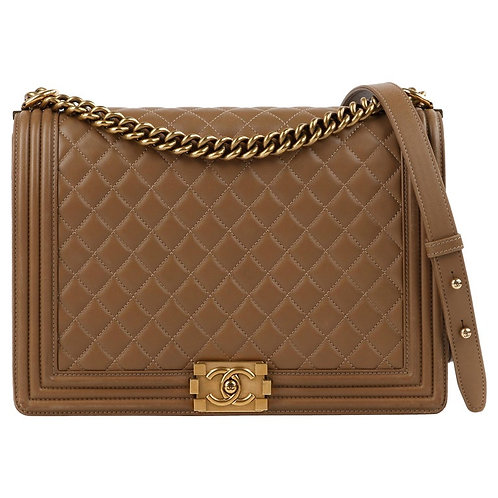 "Chanel ""Boy"" Cross-body Shoulder Bag"