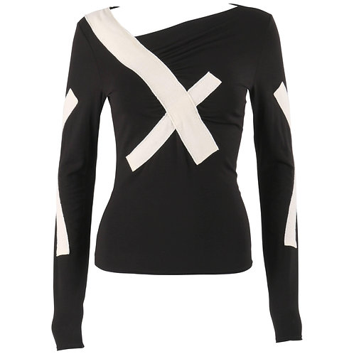 Issey Miyake Bandage Sweater Top