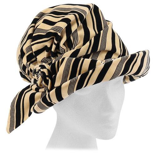 Christian Dior Spiral Knot Cloche Hat