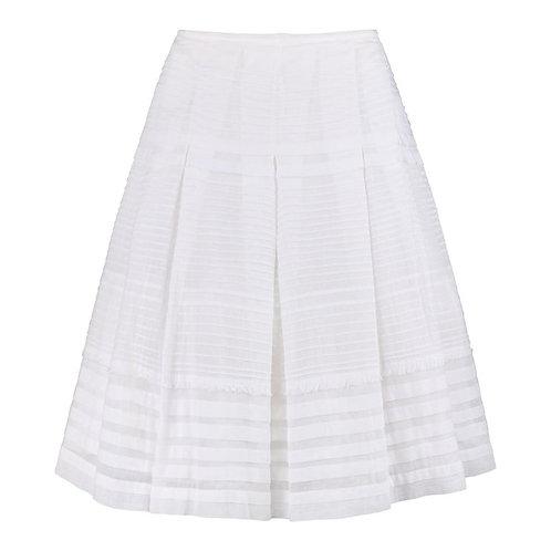 Prada Pleated Layered Skirt