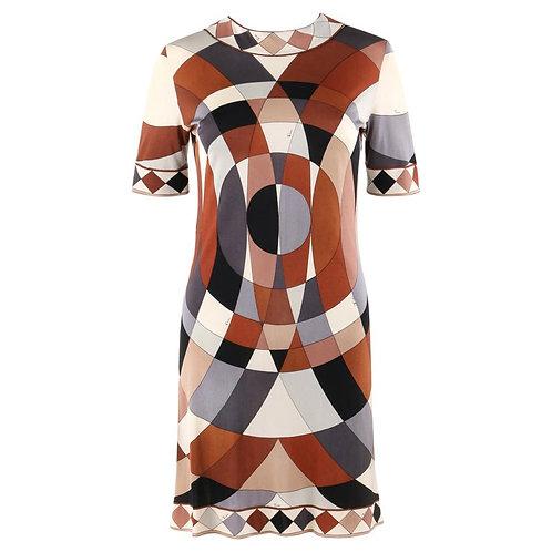 Emilio Pucci Jersey Shift Dress