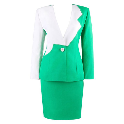 Givenchy Alexander McQueen Skirt Suit
