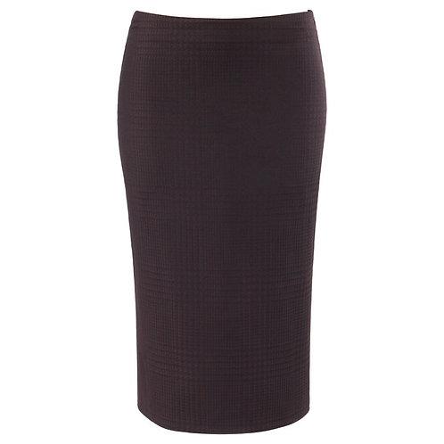 Alexander McQueen Houndstooth Pencil Skirt