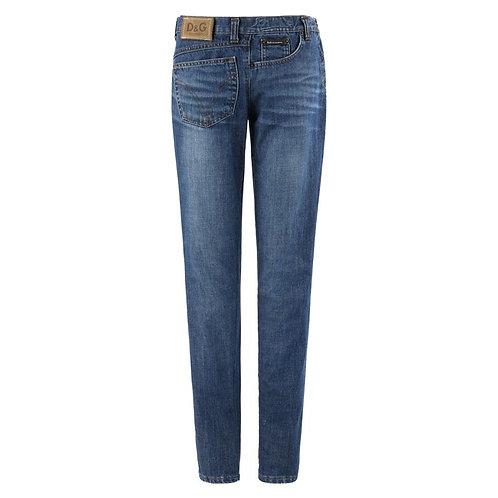 Dolce & Gabbana Sideways Avant Garde Jeans