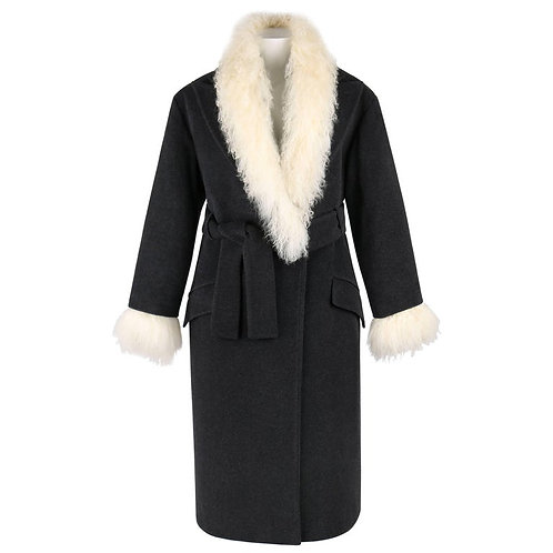 Alexander McQueen Mongolian Lamb Fur Coat