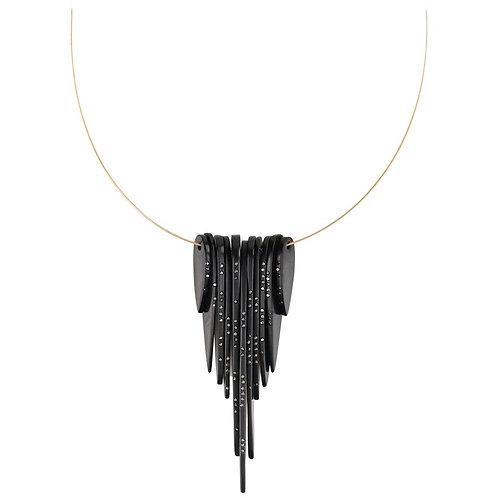"""Jacqueline Cullen """"Gem Noir"""" Necklace"""