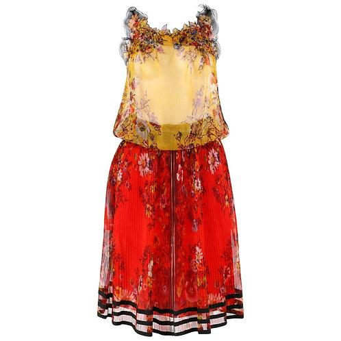 Jean Paul Gaultier Top Skirt Slip Set