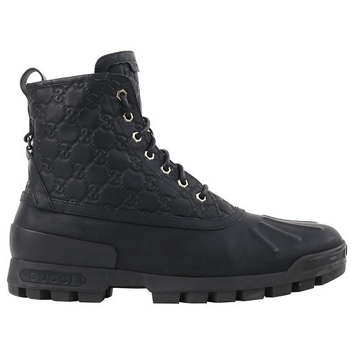 """Gucci """"Duck Boot"""" GG Work Boots"""