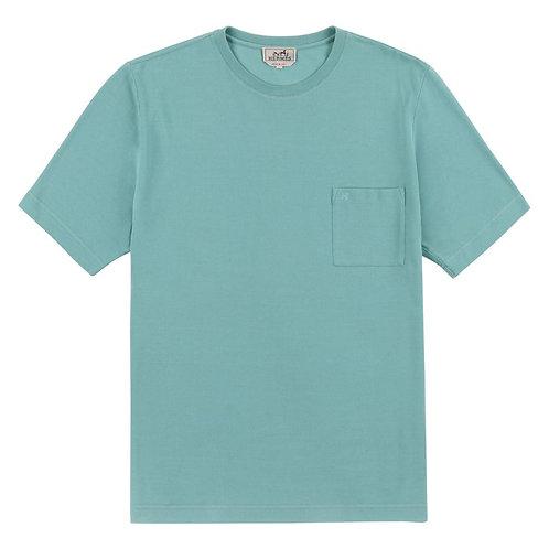 Hermes H Embroidered Pocket T-Shirt