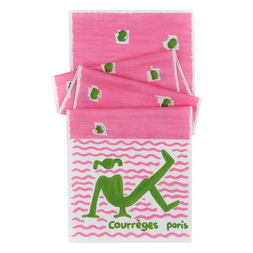 Courrèges Beach Girl Wrap Scarf
