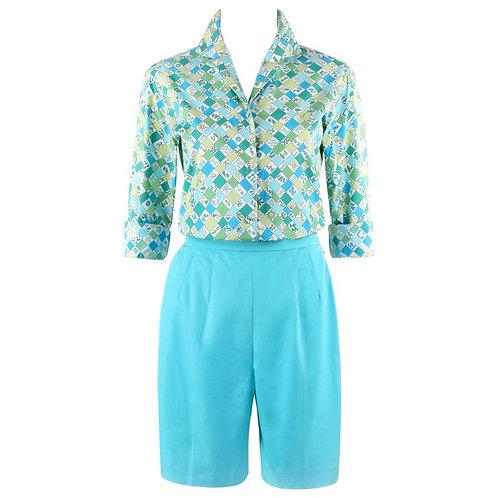 Emilio Pucci Shirt Short Set