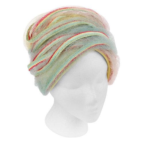 Christian Dior Rainbow Cloche Bucket Hat