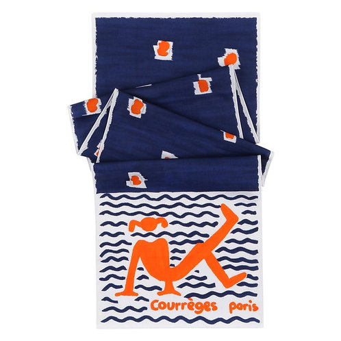 Courrèges Beach Girl Wrap Scarf