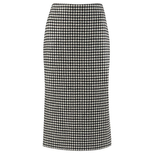 Alexander McQueen Dogtooth Pencil Skirt