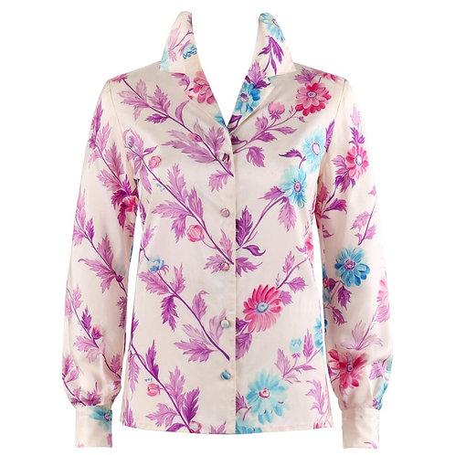 Emilio Pucci Silk Shirt Top