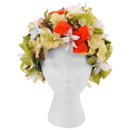 Christian Dior Flower Pot Cloche Hat
