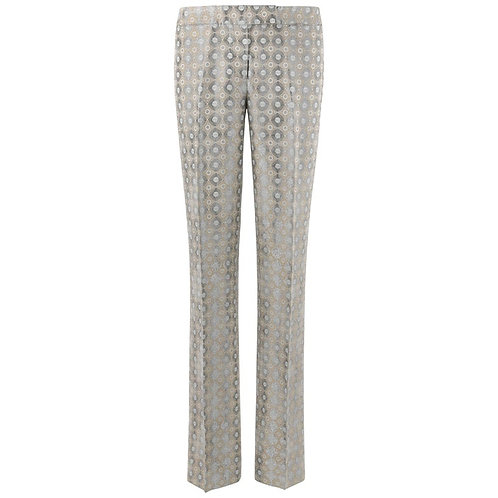 Alexander McQueen Metallic Trousers