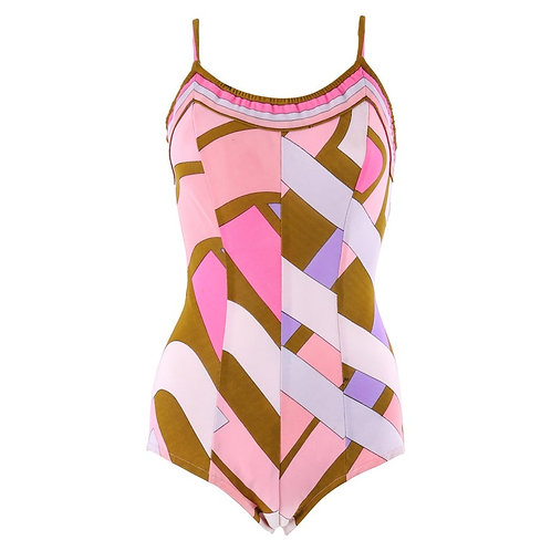 Emilio Pucci One-Piece Bathing Suit