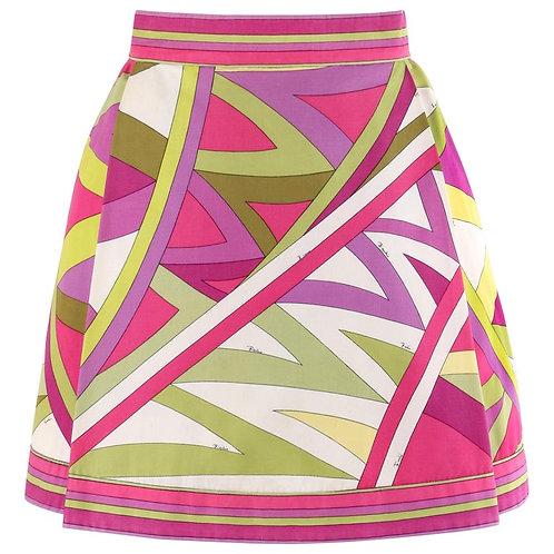 "Emilio Pucci ""Arcate"" Mini Skirt"