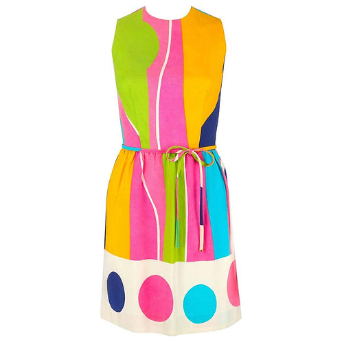 Lanz Originals Colorblock Shift Dress