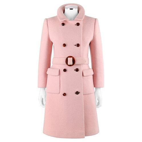 Calvin Klein Mod Belted Top Coat