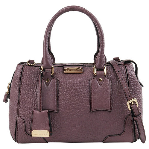 "Burberry ""Gladstone"" Satchel Handbag"