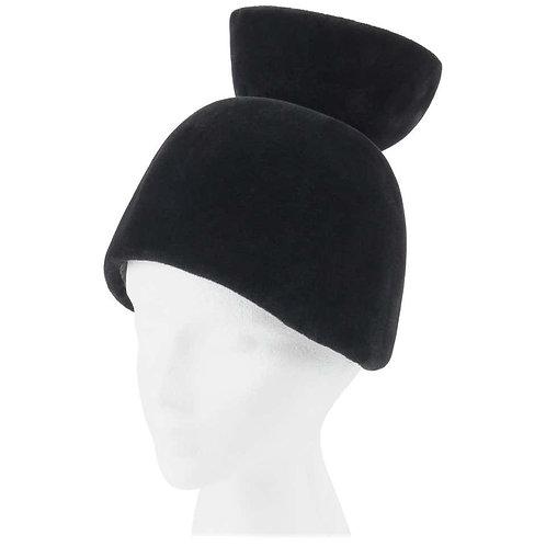 Cesare Canessa Haute Couture Sculptural Hat