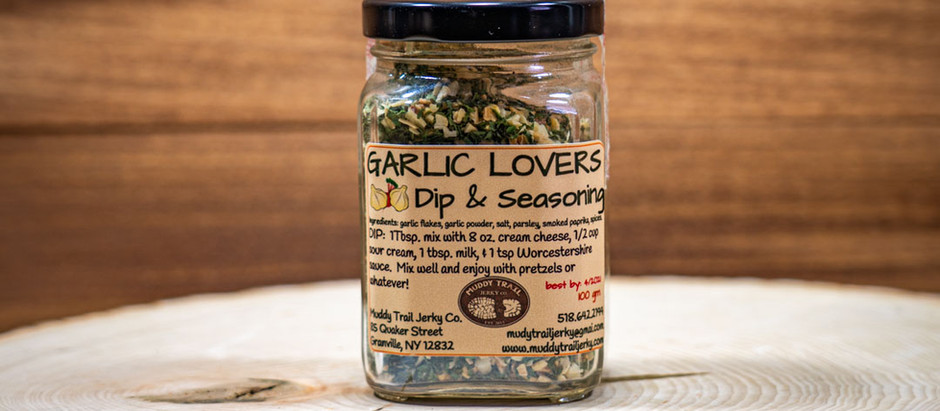 Garlic Lovers Dip & Seasoning Mix