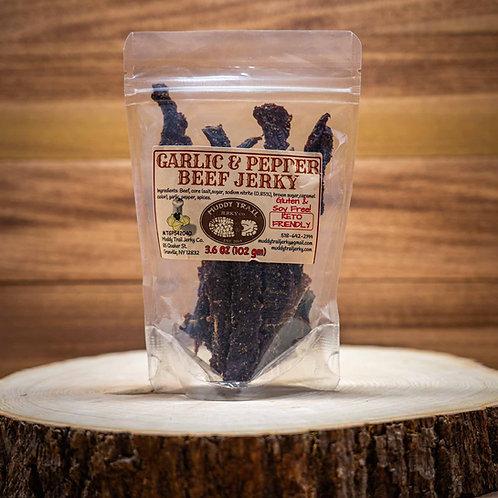 Garlic & Pepper Beef Jerky
