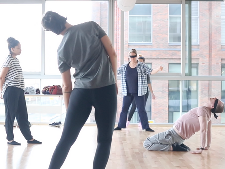 Body awareness and movement research Workshop 7/12/19