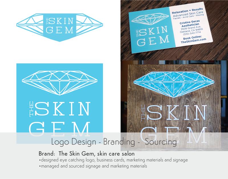 Logo Design, Branding, Sourcing