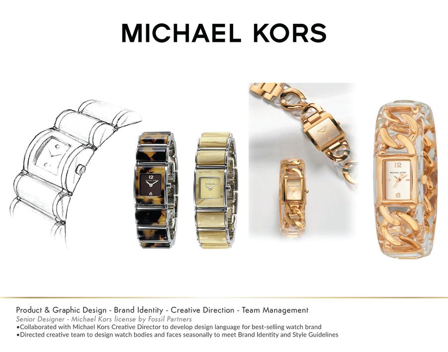 Michael Kors Ladies Watch Designs