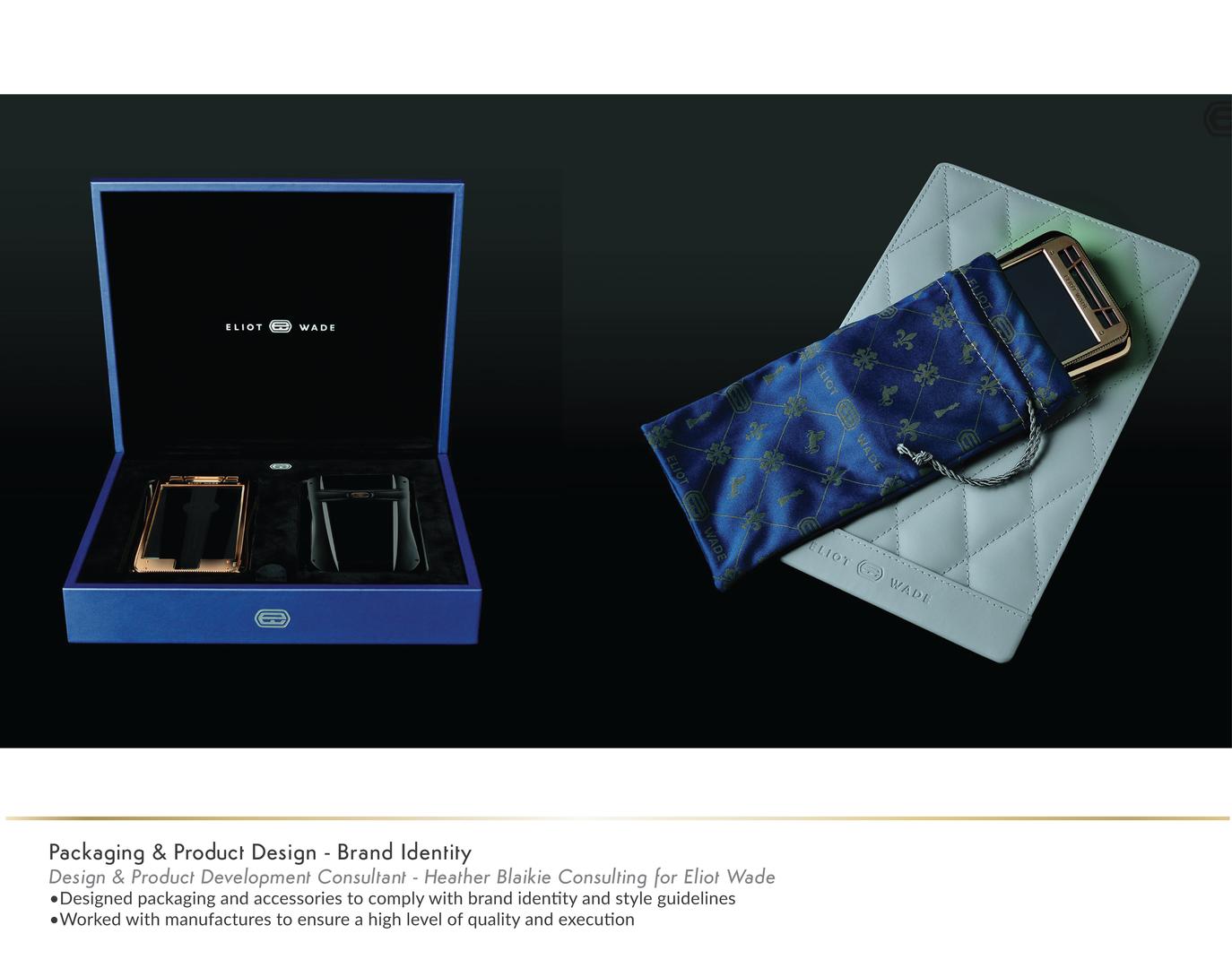 Packaging Design Eliot Wade