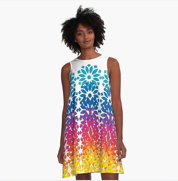 Big Glitter Rainbow Lotus Dress.png