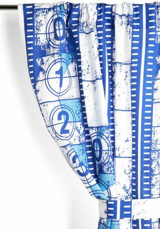 ModCloth Textile Design Film Reel Curtai