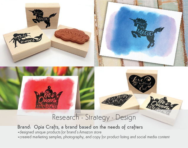Research Strategy Design Opia Crafts Stationary