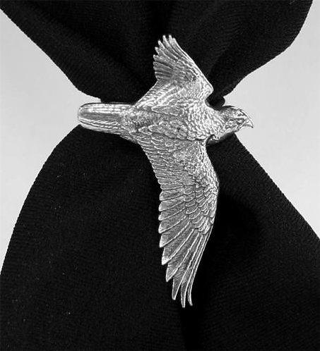 Falcon Bird of Prey Scarf Ring