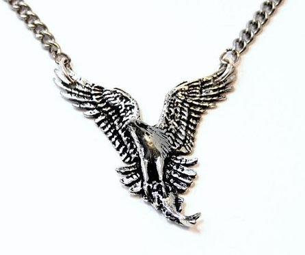 Osprey Bird of Prey Necklace