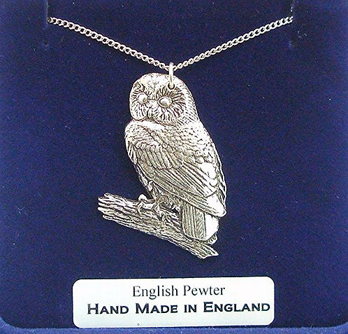 Tawny Owl Necklace