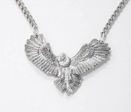 Flying Owl Necklace