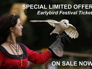 Early Bird Tickets flying away soon