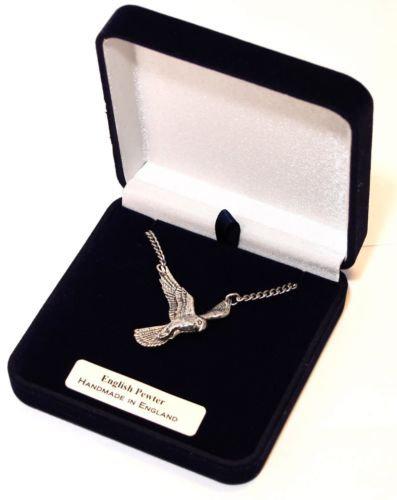 Kestrel Bird of Prey Necklace