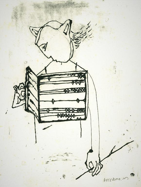 子鹿の休息モノクロ1.jpg