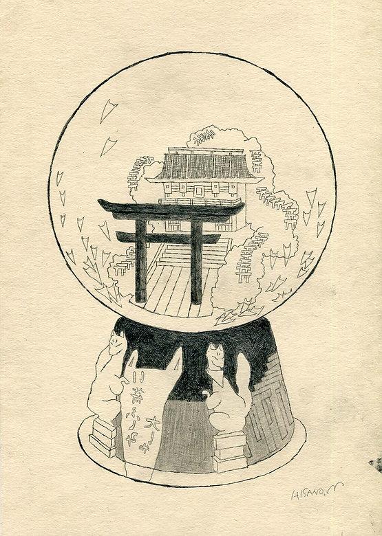 スノードーム稲荷神社1.jpg