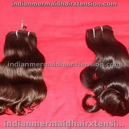"16 ""  Remy Virgin Hair- Machine Weft"