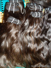 "22 ""  Remy Virgin Human Hair- Machine Weft"