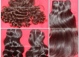 How Remy Indian Human Hair Extensions are made by Human Hair Extensions Factories?