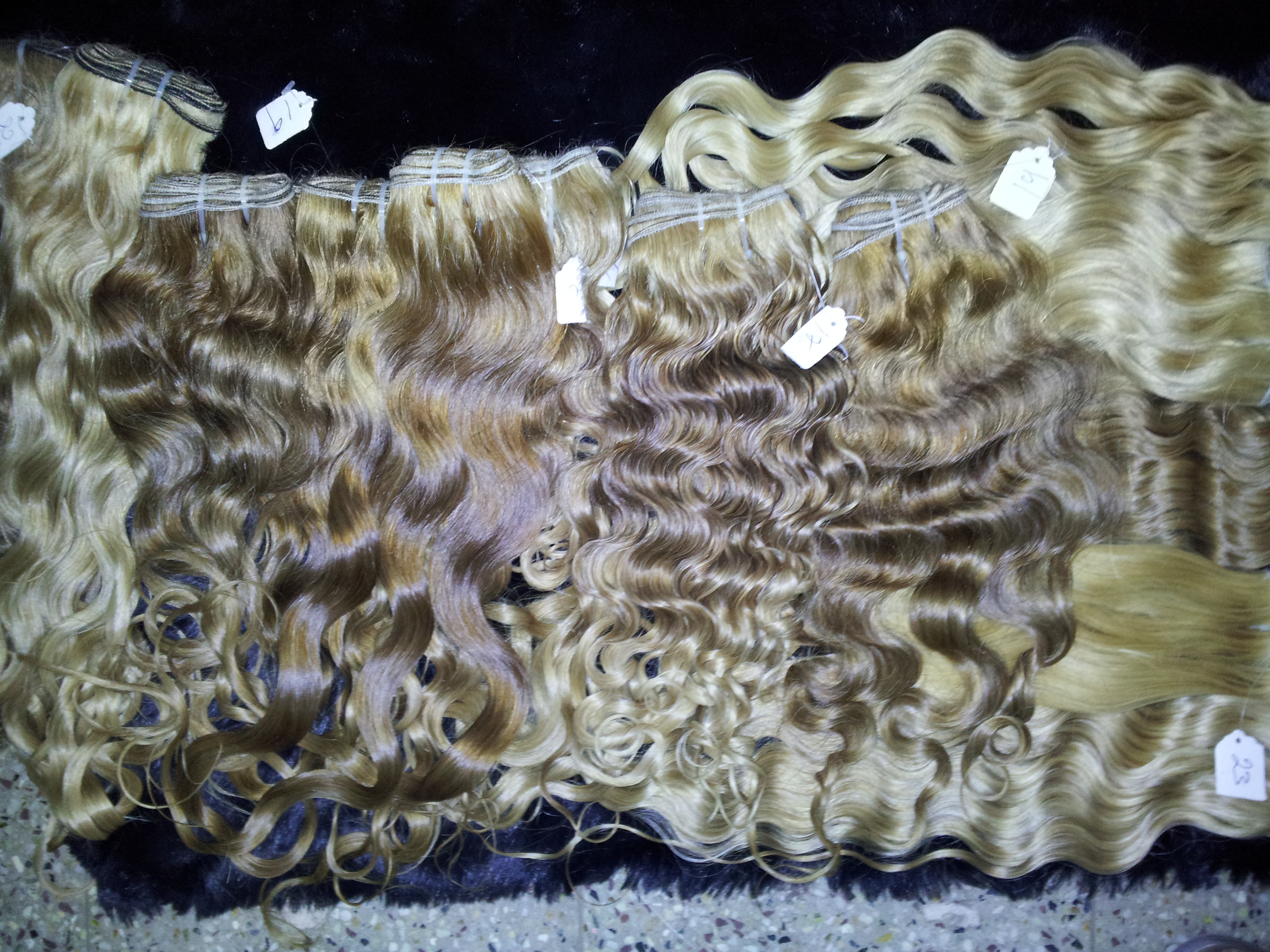Remy Indian Hair - Indian human Hair