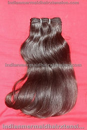 "14 ""  Indian Hair- Machine Weft"