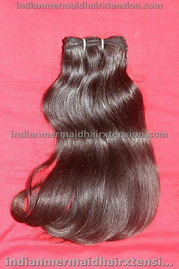 "18 ""  Remy Virgin Human Hair- Machine Weft"